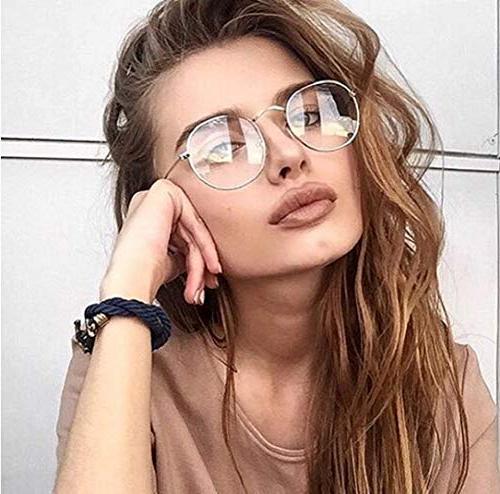 vintage round metal optical eyewear non prescription