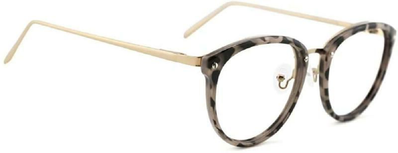 Tijn Vintage Round Metal Optical Eyewear Non-Prescription Ey
