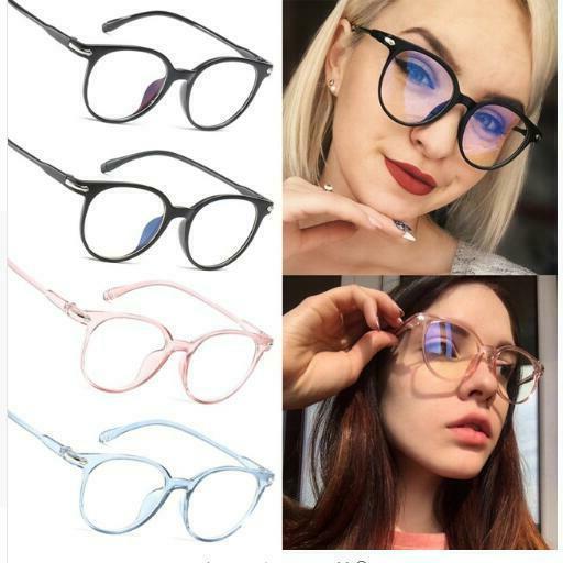women eyeglasses frame transparent lens spectacle frame