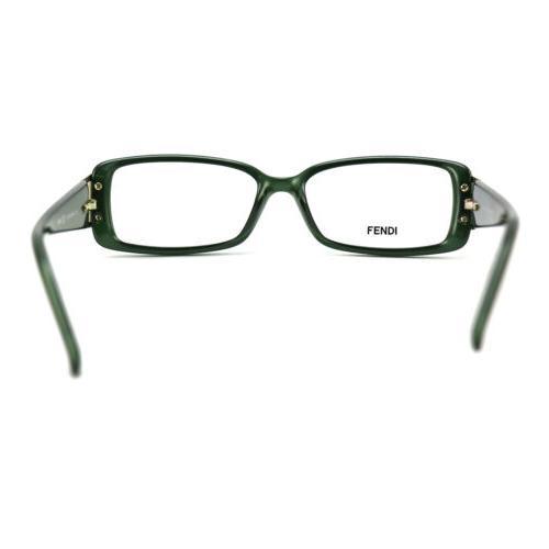 Fendi Women's Authentic FF Frame Glasses 52 135