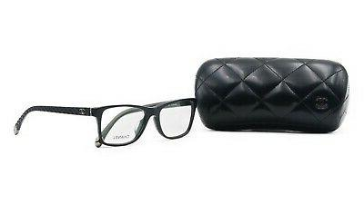 women s black glasses with case ch