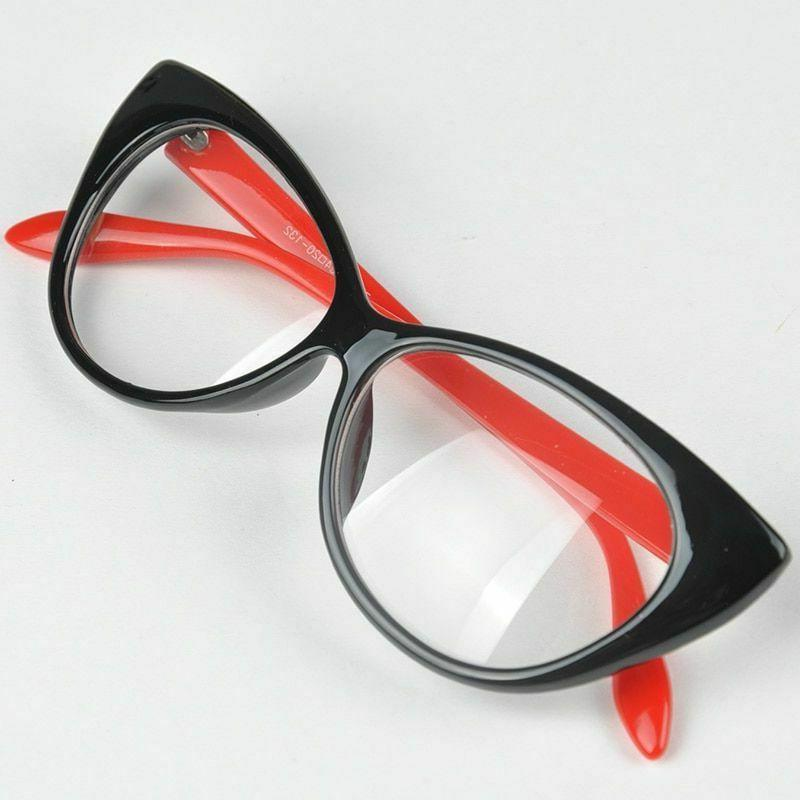 Cat Eye Glasses Plastic Female Beach Accessories