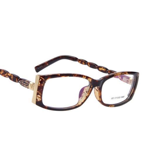 women s rhinestone optical eyeglasses frame fashion