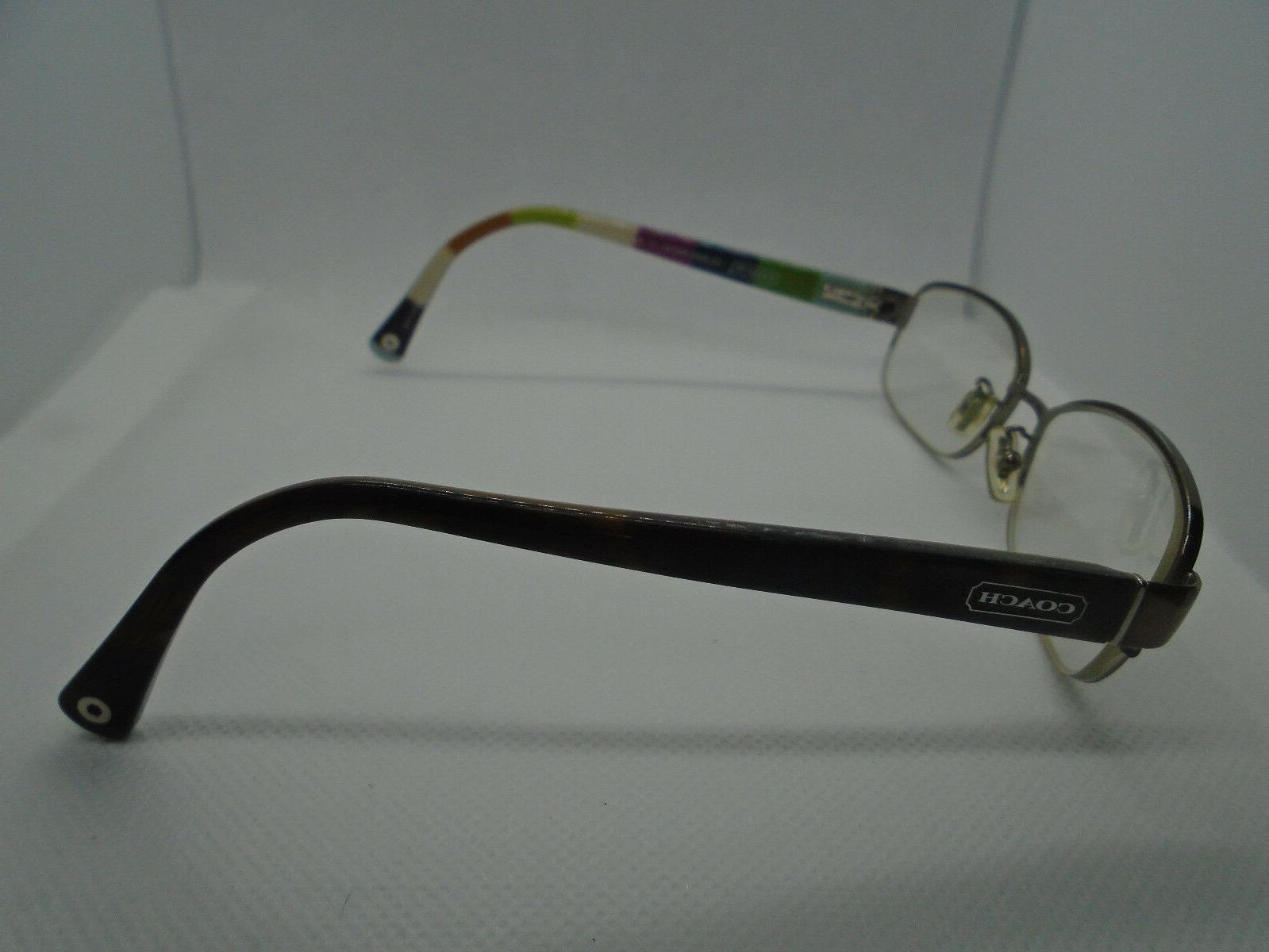 Coach Eyeglasses Bettie HC5004 9027 Brown Tortoise
