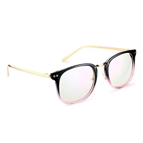 womens fashion oversized glasses frames clear lense