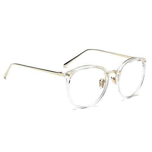 Amomoma Round Eyeglasses Lens Eyewear AM5001