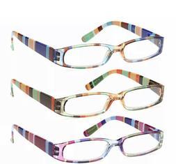 Gamma Ray Optics Ladies Readers Reading Glasses +1.50 SET of