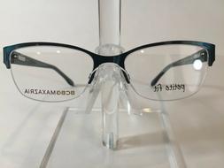 BCBG Maxazria Lauren Women's Semi Rimless Eyeglass Frame- Te