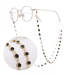 Lemegeton Black Crystal Beads <font><b>Eyeglass</b></font> C