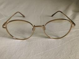 GENTLE MONSTER  Liberty 03 Gold Men's Women's Eyeglasses Fra