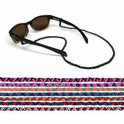 CROAKIES Mayan Woven Cord Spec Ends Guatemalan Sunglass Eyeg