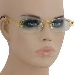 Men Classy CONTEMPORARY MODERN Style Clear Lens EYE GLASSES