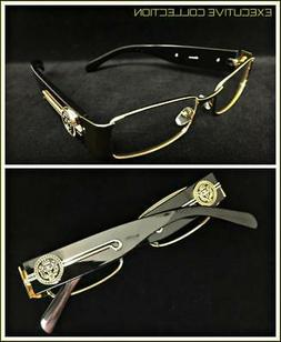 Men Classy Exotic Elegant Retro Style Clear EYE GLASSES Gold