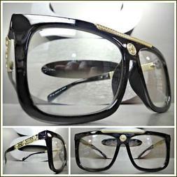 Men Classy Retro Luxury Designer Style Clear Lens EYE GLASSE
