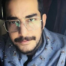 Men Retro <font><b>Eyeglasses</b></font> Metal Gold Eyewear