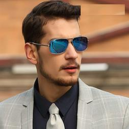 Men's Retro Sunglasses Polarized Lens Vintage Driving Eye we