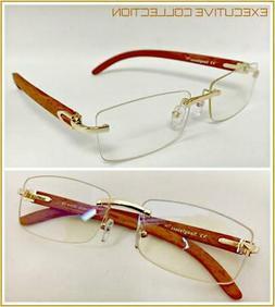 Mens CLASSY SOPHISTICATED ELEGANT Clear Lens EYE GLASSES Rim