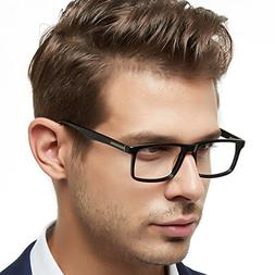 OCCI CHIARI Mens Rectangle Fashion Stylish Acetate Eyewear F