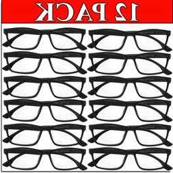 READING GLASSES MENS WOMENS READERS UNISEX 12 PACK WHOLESALE