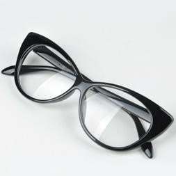 Nerd Retro Sexy Women Fake Eyeglasses Frame Fashion Cat Eye