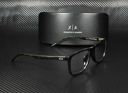 new 3048f eyeglasses 8158 black 100 percent