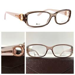NEW AUTHENTIC GUCCI GG 3204 54-15-140 MAUVE BLUSH OPTICAL EY