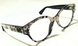 New Authentic GUCCI GG0099O 005 Black/Flowers 50/18/140 Wome