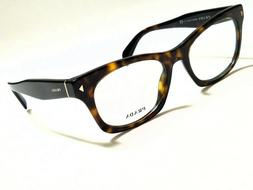 New Authentic PRADA PR11SV 2AU-1O1 Tortoise 51/19/140 Rx Eye