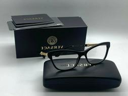 New authentic VERSACE Womens Eyeglasses VE3270QA 5299 BLACK