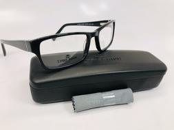 New Wide Guyz Black MOOSE Eyeglasses 60mm for The Stylish La