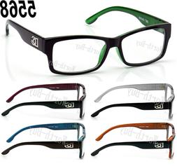 New Clear Lens Eye Glasses Fashion Designer Frame Square Men