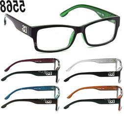 New Clear Lens Square Frame Eye Glasses Designer Womens Mens