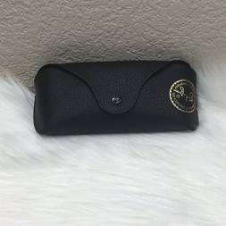 NEW RAY BAN EYE GLASSES SUNGLASSES LEATHER CASE POUCH AND LE