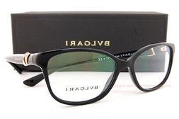 New BVLGARI Eyeglass Frames 4128BF 501 Black for Women size