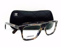 New Chanel Eyeglasses 3240 1392 Blue/Grey Mottle 52•16•1