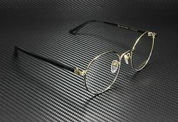 New Gucci GG 0297-OK 003 Black Unisex Authentic Eyeglasses F