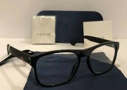 New GUCCI GG0173O 001 Black Eyeglasses Optical Frame W/ Gucc