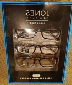 NEW Jones of New York Eyeglasses Men's Eyewear Frames + 1.50