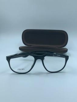 NEW Prada Journal VPR 12S 1AB-1O1 Round Eyeglasses Frames Gl