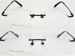 New Men's Michael Kors Eyeglasses Rimless Frame MK166 55-17-