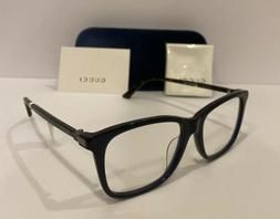 NEW GUCCI Mens GG0018OA 003 Havana & Blue Eyeglasses Optical