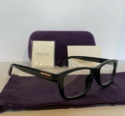 NEW GUCCI Mens GG07710A 001 Black Eyeglasses Optical Frames