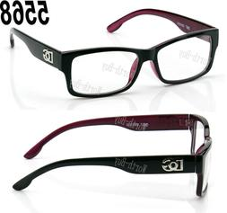 New Mens Womens Square Clear Lens Frame Eye Glasses Fashion
