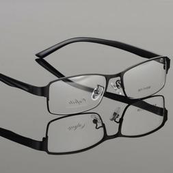 New Metal Eyeglass Frames Business Men's Full Rim Myopia Eye