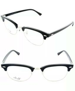 NEW Ray Ban Clubmaster Eyeglasses RB5154 2000 51mm Black SIL