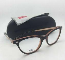 New RAY-BAN Rx-able Eyeglasses RB 5360 5713 52-18 Tortoise-B