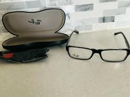 New RAY-BAN Unisex Black on Clear Eyeglasses Frame RB 5169 2