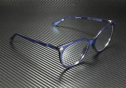 New Gucci Sensual Romantic GG0093O 005 53MM Eyeglasses Blue
