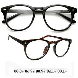 New Unisex Round Fashion Vintage Blended Line Bifocal Readin