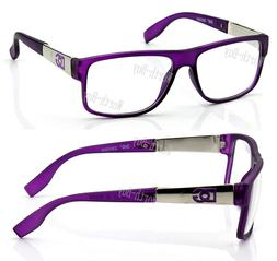 new wb womens square clear lens frame